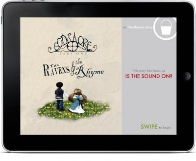 Ravens & Rhyme iPad app cover